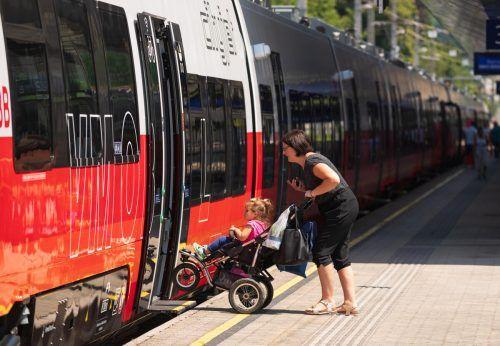 In Vorarlberg sind die Talent-3-Züge bislang nur im Testeinsatz. vn