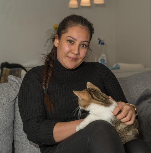Johanna Blaser kann wegen Corona seit vier Monaten ihren Job nicht mehr ausüben. VN/Stiplovsek