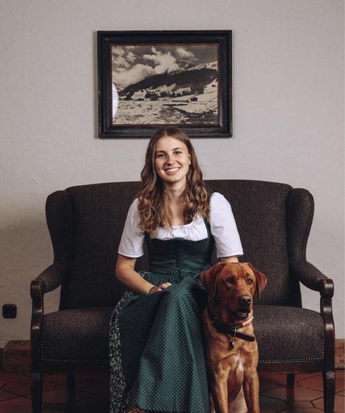 Johanna Rhomberg übt im Hotel eine tragende Funktion aus. Christoph Schoech