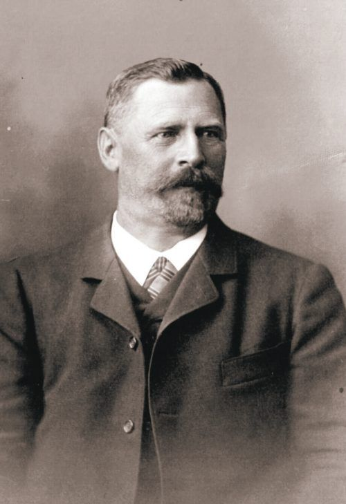 Josef Anton Hirschbühl um 1900.