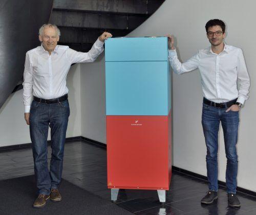 Eigentümer Josias F. Gasser und Geschäftsführer Jürgen Fink. d+w