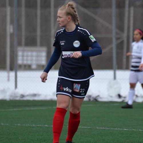 Julia Sattler verstärkt im Frühjahr den BL-Klub FFC Vorderland.Hofbauer