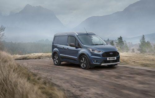 Kompakte Abmessungen und dennoch hohe Aufnahmefähigkeit: Der Ford Transit Connect kann ab der Standardlänge bis zu 3,7 Kubikmeter einladen.