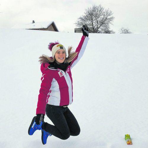 Kraft tanken und die Natur genießen, Katharina Liensberger voller Vorfreude auf die Ski-WM.Katharina Liensberger/instagram/privat