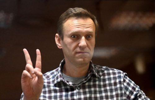 Kremlkritiker Nawalny befindet sich in Haft. AFP