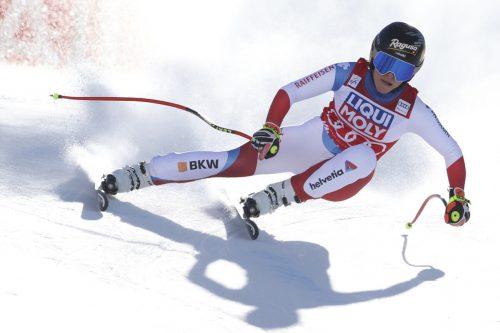 Lara Gut-Behrami sicherte sich in Val di Fassa vorzeitig die kleine Kristallkugel für den Gewinn der Super-G-Weltcupwertung und hat die Leaderposition im Gesamtweltcup übernommen.AFP