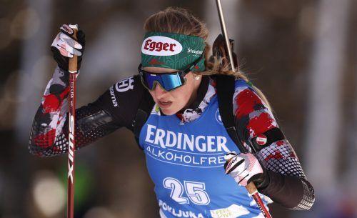 Lisa Hauser verpasste nur knapp eine weitere WM-Medaille.ap
