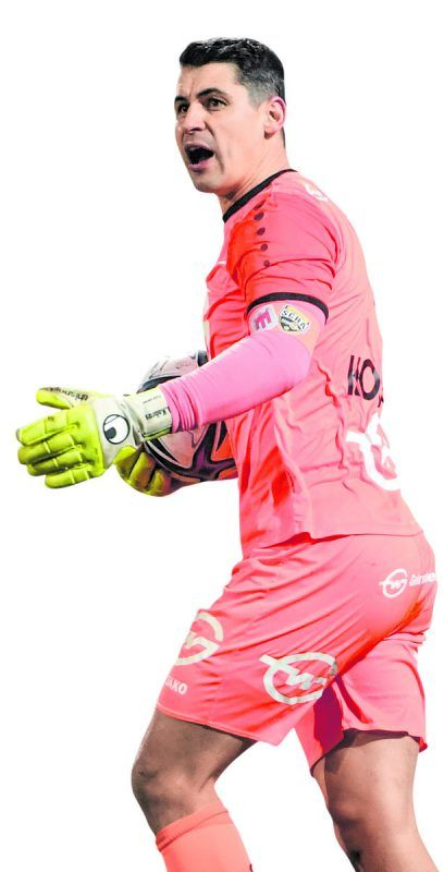 Martin Kobras zählt zu den konstantesten Spielern im Dress des SCR Altach.gepa