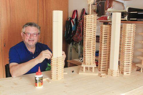 Martin Mangeng baute rund 200 Minifunken.