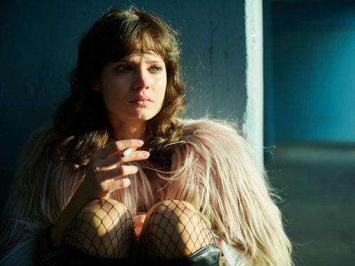 McKinnon verkörpert Christiane F. in der achtteiligen Serie.Amazon Prime Video