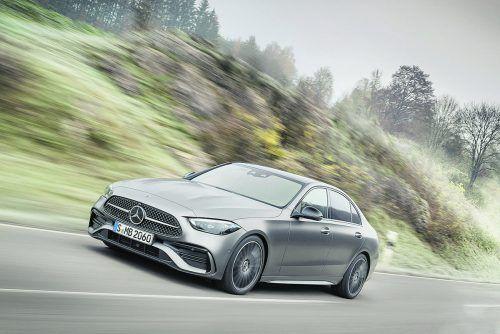 Mercedes bringt dieses Jahr die fünfte Generation der C-Klasse auf den Markt, die in der Länge auf 4,75 Meter gewachsen ist.werk