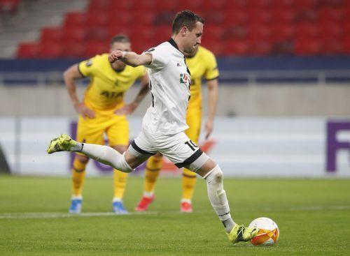 Michael Liendl erzielte seinen fünften Treffer in der Europa League.reuters