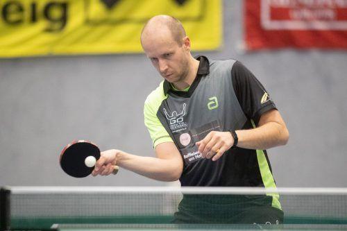 Miroslav Sklensky gewann alle seine Einzelpartien.VN-SAMS