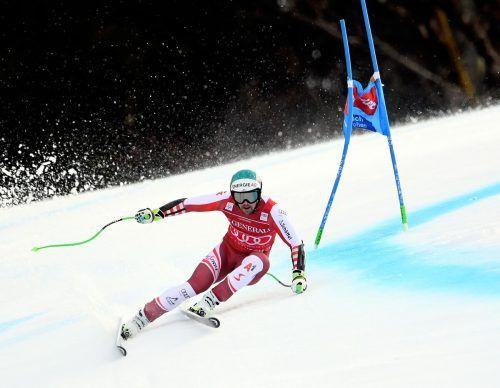 Mit der Empfehlung von Siegen in Kitzbühel und Garmisch-Partenkrichen kommt Vincent Kriechmayr heute zum WM-Super-G. gepa