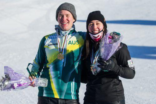 Mixed-Gold ging an das australische SBX-Duo Belle Brockhoff und Jarryd Hughes.ap
