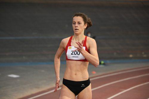 Neuer Landesrekord für Anna Mager.                              ÖLV/A. Nevsimal