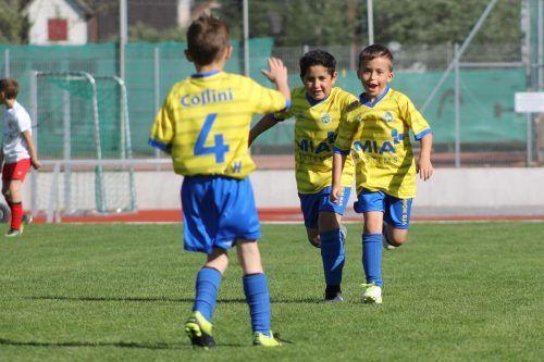 Noch steht es in den Sternen, wann sich die Bambinis wieder gemeinsam im Verein über ein Fußballspiel freuen dürfen. VfB