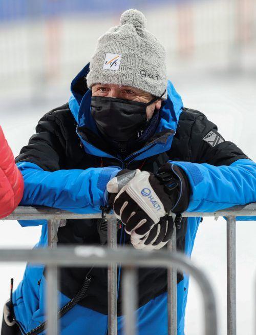Peter Gerdol ist der FIS-Delegierte für die Damenrennen bei der WM. gepa