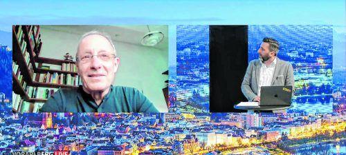 "Peter Pilz zu Gast bei ""Vorarlberg live"". VN"