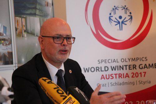 Peter Ritter stellt sich der Herausforderung als neuer SOÖ-Präsident.Rauch