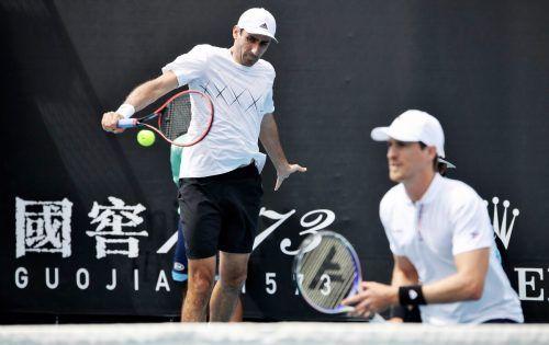 Philipp Oswald schaffte es bei den Australian Open erstmals bei einem Grand Slam-Turnier im Doppel ins Viertelfinale. Dort war dann aber Endstation.gepa