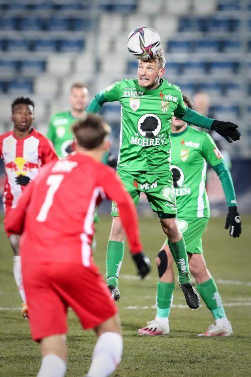 Pius Grabher und Co. starteten mit einer Niederlage in die Saison.gepa