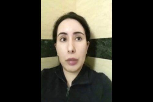Prinzessin Latifa wandte sich in einem Brief an die Polizei. AP