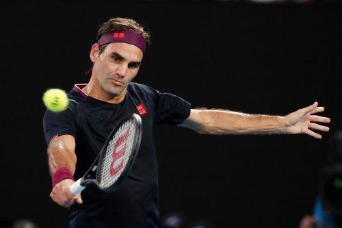 Roger Federer plant im März sein Comeback auf der ATP-Tour.AP