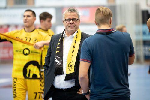 """Roland Frühstück war über Jahrzehnte der Bregenzer """"Hans-Dampf-in-allen-Gassen"""". Nun tritt der Präsident ins zweite Glied zurück.Sams"""