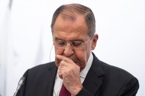 Russlands Außenminister Lawrow fand kritische Worte. DPA