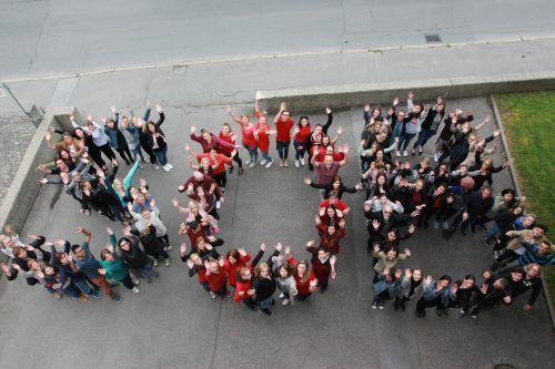 Studierende der SOB Bregenz.SOB Bregenz