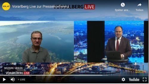 VN-Chefredakteur Gerold Riedmann im Gespräch mit Armin Fidler. Screenshot