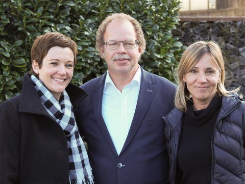 Vor einem Jahr übernahm Eva-Maria Hochhauser-Gams (l.) die Regio-Geschäftsführung vor Birgit Werle. Bgm. Florian Kasseroler fungiert weiter als Obmann.Regio/tmh