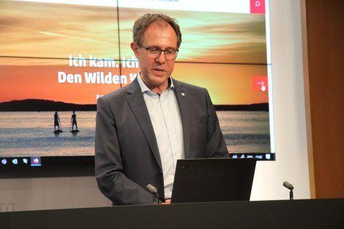 Vorarlberg-Tourismus-Chef Schützinger will digital Kontakt zu den Gästen halten.VN