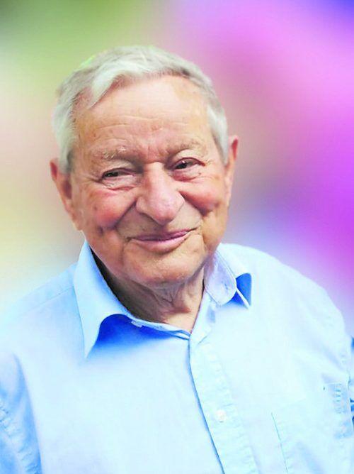 Walter Ettenberger, Ehrenobmann des Krankenpflegevereins Bregenz.