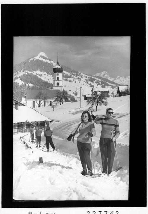 Wintersportfreuden werden hier schon lange ausgelebt.