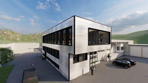 1,3 Millionen Euro werden am Stammsitz Klaus investiert. waibel