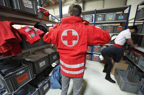 4500 Mann leisteten in Österreich einen außerordentlichen Zivildienst. APA