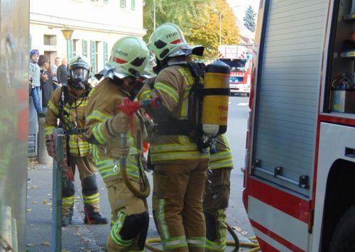46 Brandeinsätze gab es 2020 für die Lustenauer Feuerwehrleute zu absolvieren.???