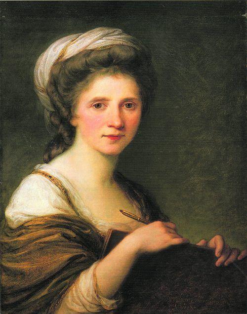 Angelika Kauffmann gilt als Vorreiterin der Frauenbewegung.