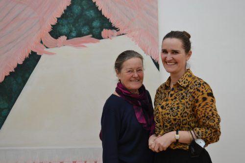 Anneliese Flatz aus Andelsbuch mit Tochter Judith Moosmann.