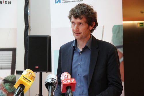 Arno Geiger ist Pflegedirektor im LKH Hohenems.vol.at/mayer