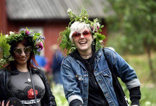 Bereits zum vierten Mal führen die Finnen die Liste der glücklichsten Menschen an. Rts