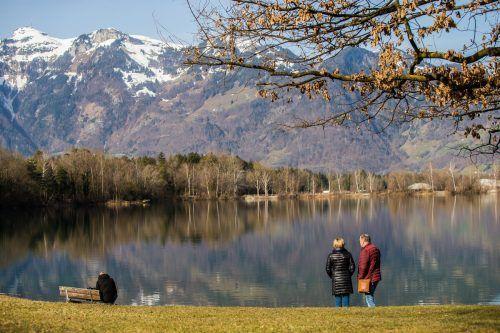 Brederis – ein durch seine Lage im Rheintal einzigartiger Ortsteil – soll zukunftsfit gemacht werden.VN/Steurer