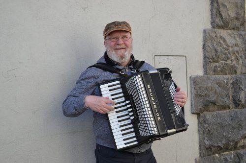 Brian O'Leary zog es vor 29 Jahren von Irland nach Vorarlberg.. BI