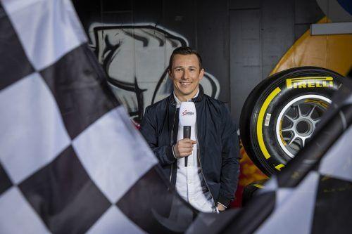Christian Klien wird an der Seite von Andrea Schlager 2021 für ServusTV hinter die Kulissen des Formel-1-Fahrerlagers blicken.Neumayr Leo