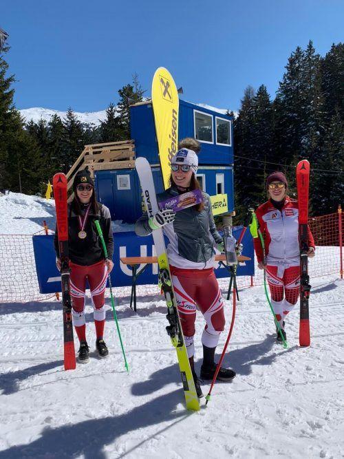 Christine Scheyer wurde ÖSV-Vizemeisterin und Siegerin im FIS-Rennen.VSV