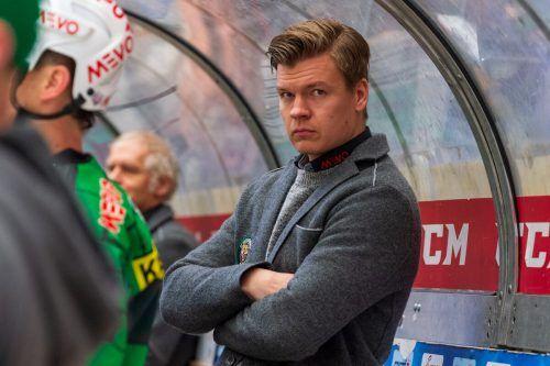 Coach Markus Juurikkala und der ECB verloren die Partie in einer Minute.lerch