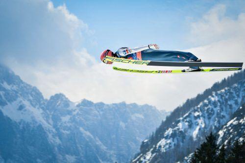 Daniel Huber landete beim abschließenden Skifliegen in Planica auf dem fünften Platz.apa