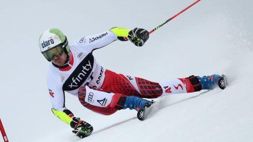Daniel Meier zündete am Saisonende nochmals den Turbo, landete im finalen Europacup-Riesentorlauf auf dem dritten Rang.ÖSV
